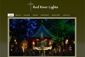 Web Development for Red River Lights